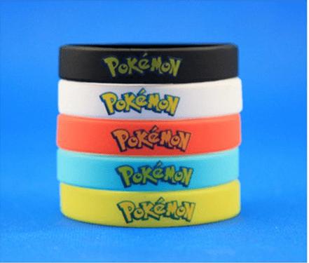 Capture2 Bracelet Pokémon Go Multicolore En Silicone - Livraison Gratuite !