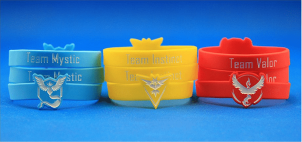 Capture9 Bracelet Pokémon Go Multicolore En Silicone - Livraison Gratuite !