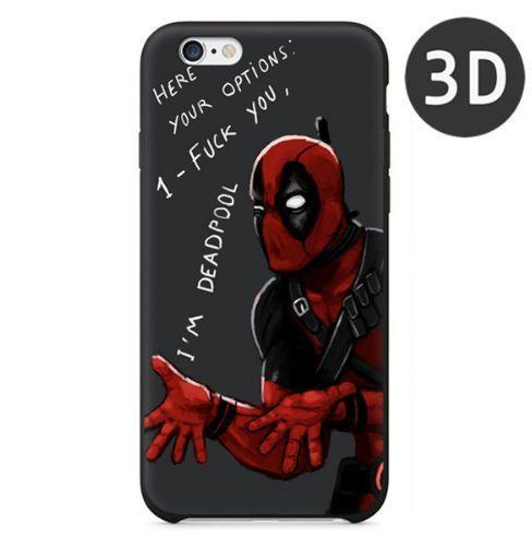 Capture9 bb0cbc3b d5d4 4728 b002 dffee495915d Coque 3D Deadpool En Silicone Pour Iphone 5/5S, 6/6S Et 6 Plus - Livraison Gratuite !