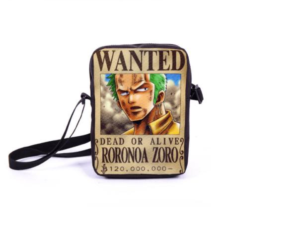 CaptureN b4aa7489 ff42 4511 b558 c83ecd85ca9e Sac À Bandoulière Wanted Dead Or Alive (6 Modèles) One Piece - Livraison Gratuite !