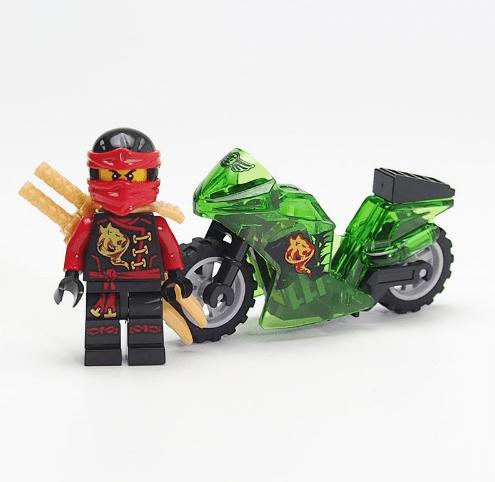 Capture b19e2d99 9622 4b50 bd6e 614208bab449 Figurine Ninjago Bloc De Construction Ninja Tornado En Moto - Livraison Gratuite !