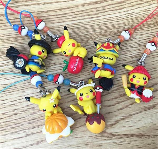 Chaude Pokemon Pikachu Figure Jouet De Noel Enfant Cadeau Courroie De telephone corde pendentif Aleatoire La.jpg 640x640 d0ead164 e2bf 4000 b55d cc9e841ec309 1 Lot De 5 Sangles Téléphone Pokemon - Livraison Gratuite !
