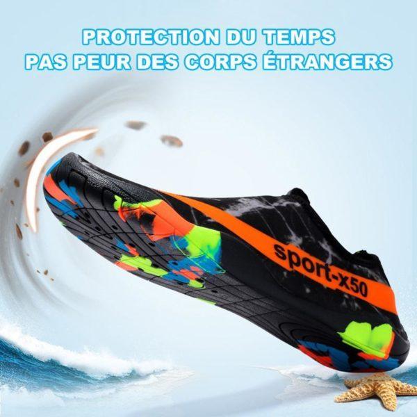 Chaussures Piscine Chaussure D'eau, L'option Pas Cher Pour Les Sportifs Aquatiques