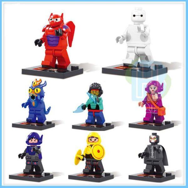 Cool Big Hero 6 Baymax Figurines Blocs de Construction Jouets 8 pcs ensemble.jpg 640x640 bca9b615 1f3e 4b21 8cf6 3c18f3cfbef3 1 Lot De 8 Figurines Baymax - Livraison Gratuite !