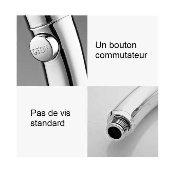 D12 f0a6da49 1324 4168 8ae5 e47d56e6d532 Pommeau De Douche Haute Pression 3-En-1
