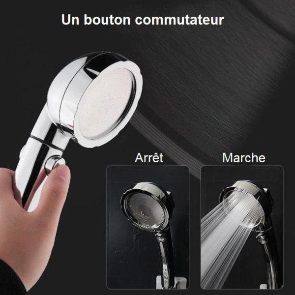 D9 7baab1e0 aea9 4249 b417 3645b28d3338 Pommeau De Douche Haute Pression 3-En-1
