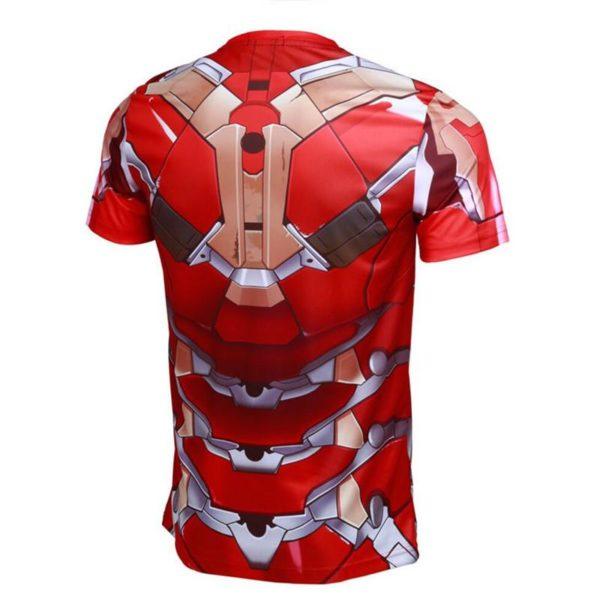 De Sportlover Nouveau Marvel The Avengers Super Hero T Shirt Iron Man T shirt 3D Impression T-Shirt Armure Iron Man Avengers - Livraison Gratuite !
