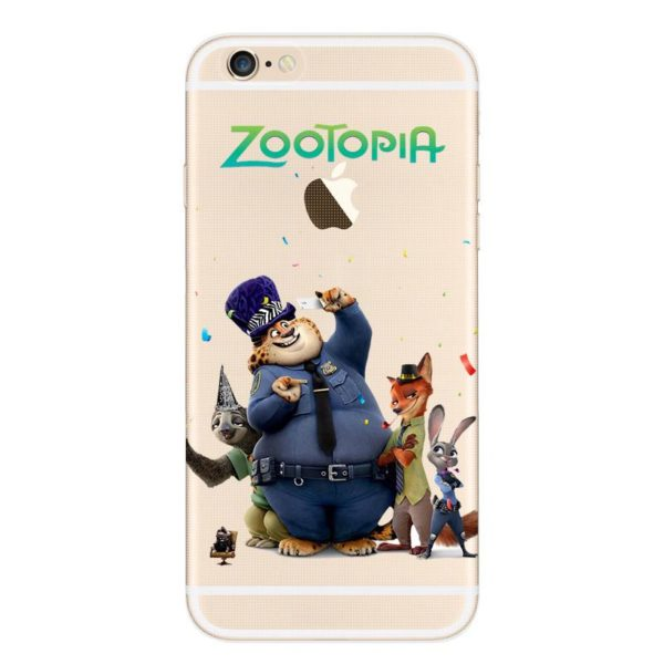 Despicable Zootopia Transparent Telephone Case Coque Pour Apple Iphone 6 s 6 Plus Souple Tpu Silicone 1 401e2825 2df5 4d3b b5f1 666516f6934e Coque En Silicone Zootopie (9 Illustrations) Pour Iphone - Livraison Gratuite !