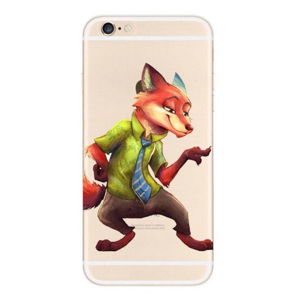 Despicable Zootopia Transparent Telephone Case Coque Pour Apple Iphone 6 s 6 Plus Souple Tpu Silicone 2 5a10f253 1f4e 4b58 ad87 bf61aa7ed953 Coque En Silicone Zootopie (9 Illustrations) Pour Iphone - Livraison Gratuite !