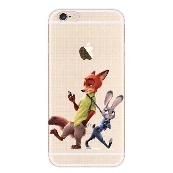 Despicable Zootopia Transparent Telephone Case Coque Pour Apple Iphone 6 s 6 Plus Souple Tpu Silicone 3 ade8390e 87e2 4094 ac69 b55c79c3e5b3 Coque En Silicone Zootopie (9 Illustrations) Pour Iphone - Livraison Gratuite !