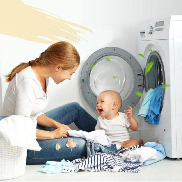 Detartrantmachinealaver 911a80e1 dc1e 49e4 b185 91bfa9d8b75a Les Pastilles Nettoyantes Anti-Bactériennes Pour Votre Lave-Linge