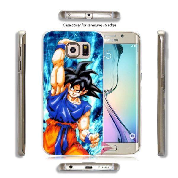 Dragon ball z Goku Dur Transparent Couvercle Transparent de Cas pour Samsung Galaxy S7 S6 Edge 3 67967d0f 59ff 4d7c baba c6fe90666642 Coque Dragon Ball Z Pour Samsung Galaxy - Livraison Gratuite !