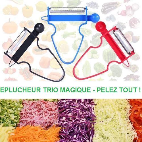 E1 Éplucheur Trio Magique (Lot De 3)