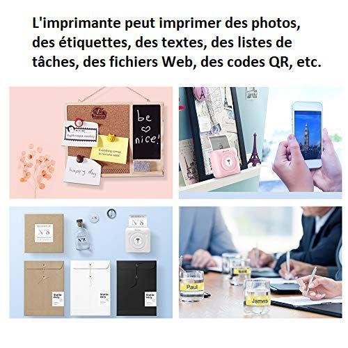E1 374d576c efd7 45ef 8314 9a9372b9f3b1 Imprimante Bluetooth Portable Pour Téléphone - Peripipage™