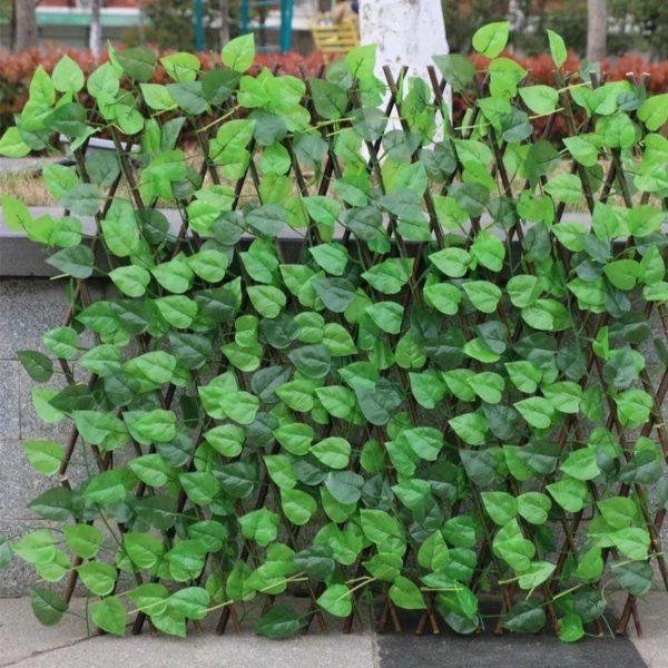 F1 84f0e5fc 2a8e 4cc9 aa35 e76d82310e0d Clôture De Plante De Jardin Artificielle Rétractable