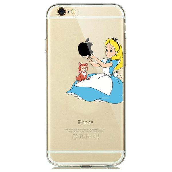 Fashion New Soft a4154d1e 051a 4534 bd55 089fdfa22858 Coque Disney World En Silicone Tpu Pour Iphone - Livraison Gratuite !