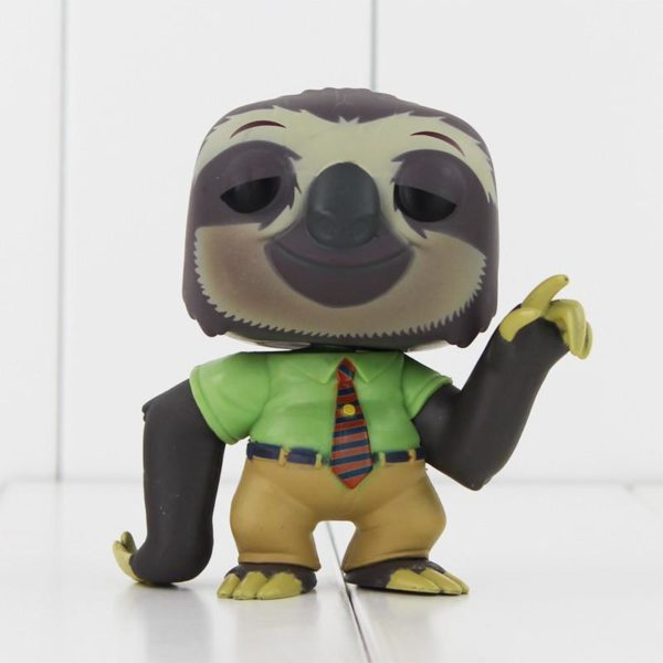 Funko POP Zootopia Mr big 188 Flash 190 PVC Figure Actions Enfants Jouets Cadeaux Poup eacute 3 Figurine Mr Big Et Flash Zootopie Police - Livraison Gratuite !