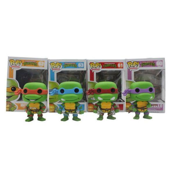 Funko Pop TMNT Teenage Mutant Ninja Turtles Anime Chaude Film anime Vinyle Leonardo Raphael Michelangelo Donatello.jpg 640x640 119b33bc 1bc1 4e91 8fda 43d69c248489 Figurine Les Tortues Ninja 10 Cm (4 Couleurs) - Livraison Gratuite !