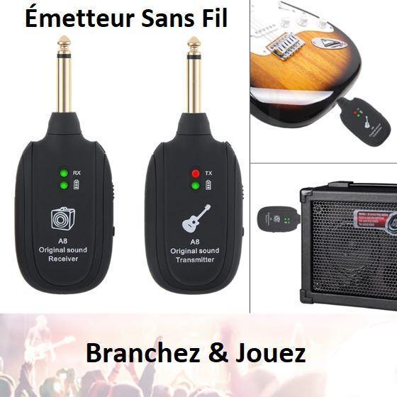G1 800x800 71e18a17 fbe4 4209 a8de 89a0873279cc Émetteur De Guitare Sans Fil