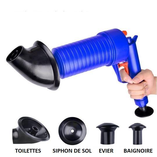 G2 Pistolet Déboucheur De Toilettes Et Évier