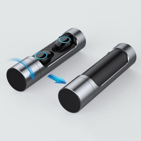GRIS1 large 9db1ea58 9fba 47ca 8796 59914c96598e Commande Tactile Bluetooth 5.0 Écouteurs Microphone