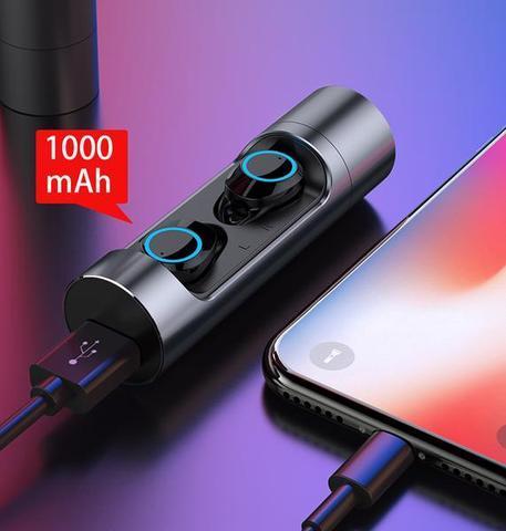 GRIS3 large 87a4d20b 84d0 4598 9802 818efd6ffbda Commande Tactile Bluetooth 5.0 Écouteurs Microphone