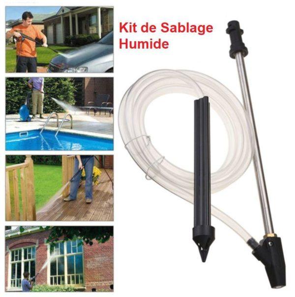 GUN3 Kit De Sablage Humide Pour Nettoyeur Haute Pression