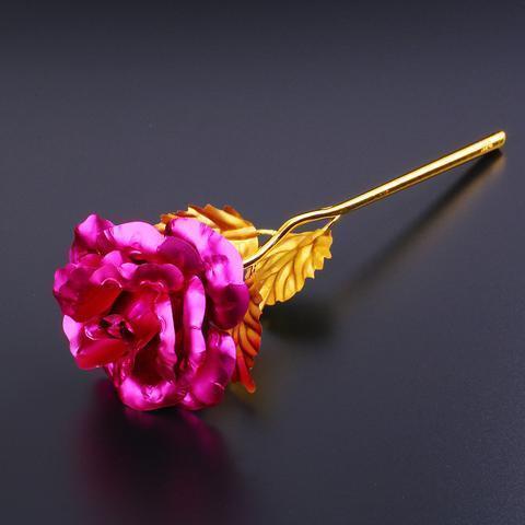 ROSE DORÉE 24K Raton Malin Rose