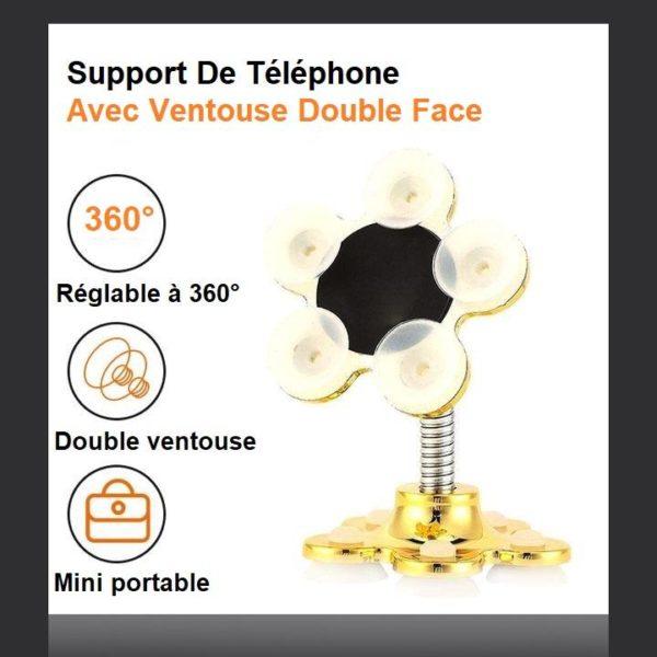 H2 ab7a2bcf 7f6b 4433 b71f 4a32c5bb9d70 Support De Téléphone Avec Ventouse Double Face