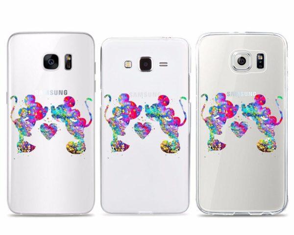 HTB1.S1JOFXXXXcOapXXq6xXFXXX2 c7bf76ec 89d5 4478 8bd9 9fd5240fc0cc Coque Amour Mickey Et Minnie Avec Paillette En Silicone Pour Samsung Galaxy - Livraison Gratuite !