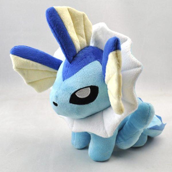 Peluche Vaporeon (25 Cm) Pokemon - Livraison Gratuite !