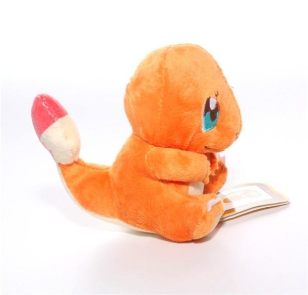 Peluche Salameche Pokemon (14 Cm) - Livraison Gratuite !