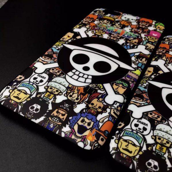 Coque One Piece Anti-Empreintes Pour Iphone 5 5S Se- Livraison Gratuite !
