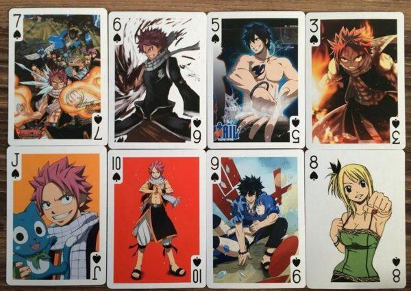 Carte Fairy Tail 54 Pièces - Livraison Gratuite !
