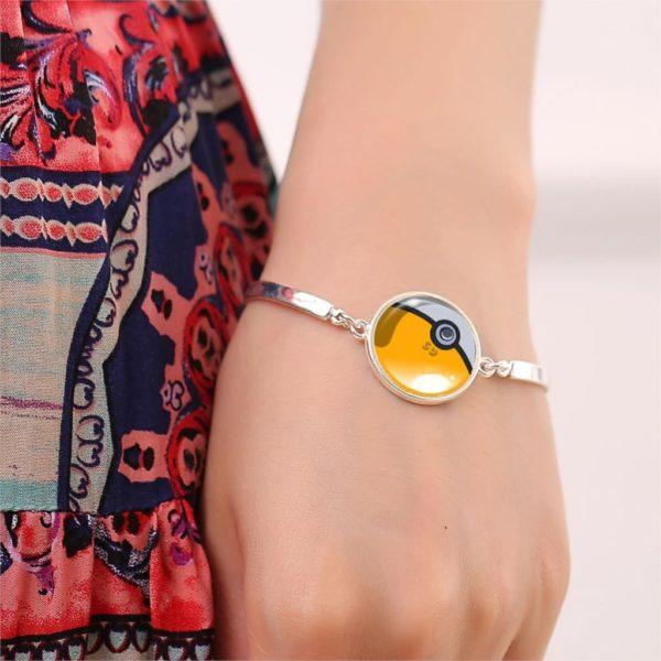 HTB12je KVXXXXc1XXXXq6xXFXXXV 6c7c6f7e f102 43da b1b7 1a073863809f Bracelet Pokémon Pokeball Verre Cabochon - Livraison Gratuite !