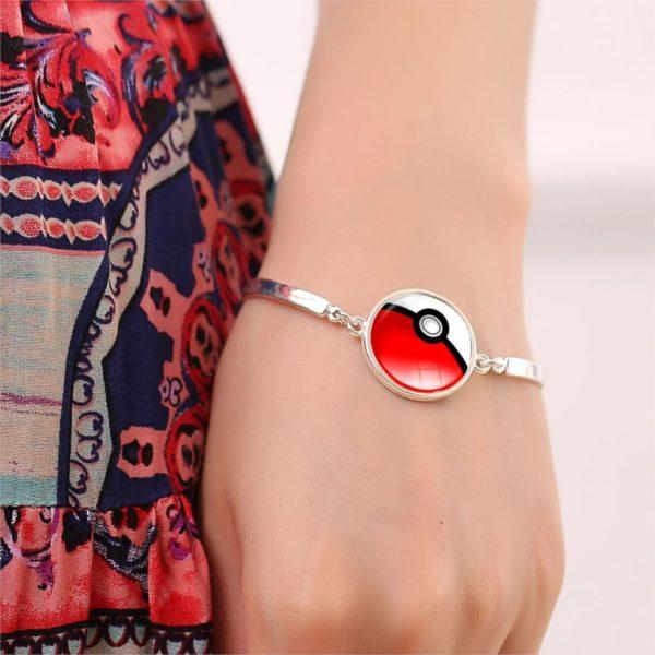 HTB12mGRLFXXXXXfXVXXq6xXFXXXw da6710ed 72b3 4484 9839 22f118e16750 Bracelet Pokémon Pokeball Verre Cabochon - Livraison Gratuite !