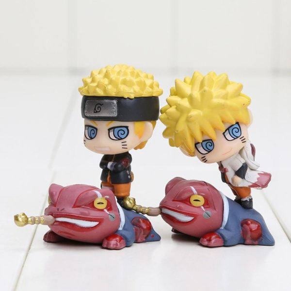 1 Lot De 6 Mini-Figurines Naruto Uzumaki - Livraison Gratuite !