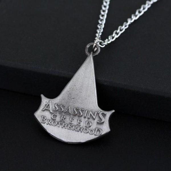 Collier Avec Pendentif Crane Assassin's Creed Brotherhood - Livraison Gratuite !