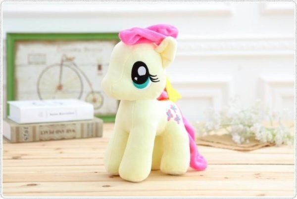 HTB16HdWOXXXXXa0aXXXq6xXFXXXH bd549a67 6594 404c 94ec fa57b409098f Peluche Poney 25 Cm My Little Pony (6 Couleurs) - Livraison Gratuite !