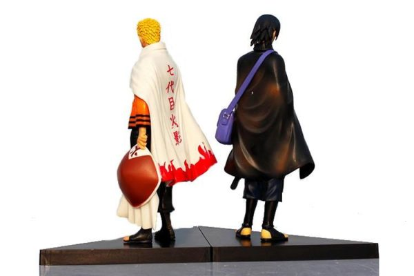 1 Lot De 2 Figurines Naruto (17 Cm) - Livraison Gratuite !