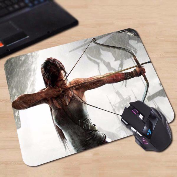 HTB1BCQBOFXXXXbyaFXXq6xXFXXXd 607df7e7 813d 4655 8795 211971d90378 Tapis De Souris Lara Croft Tomb Raider (18X22 Cm) En Caoutchouc - Livraison Gratuite !