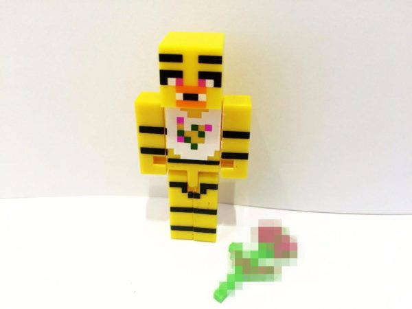 HTB1BRs3KVXXXXaBaXXXq6xXFXXXx 39cb2db1 3dfd 44d6 90a0 165de256659b 1 Lot De 4 Figurines Minecraft (Foxy Chica Bonnie Freddy ) - Livraison Gratuite !
