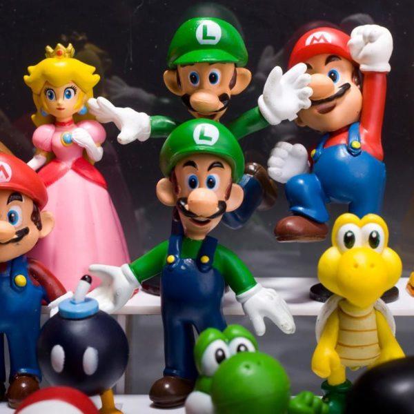 HTB1DQRvMXXXXXb aXXXq6xXFXXXo 7e3f1c87 6034 481e b11c 8e3bfe1064c5 Lot De 18 Figurines Super Mario Bros. En Pvc - Livraison Gratuite !
