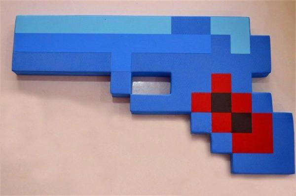 HTB1EdvAHFXXXXaaXFXXq6xXFXXXY 2edec7f9 3e2a 4925 b455 995bf517bc63 Pistolet Arme Minecraft (4 Couleurs) - Livraison Gratuite !