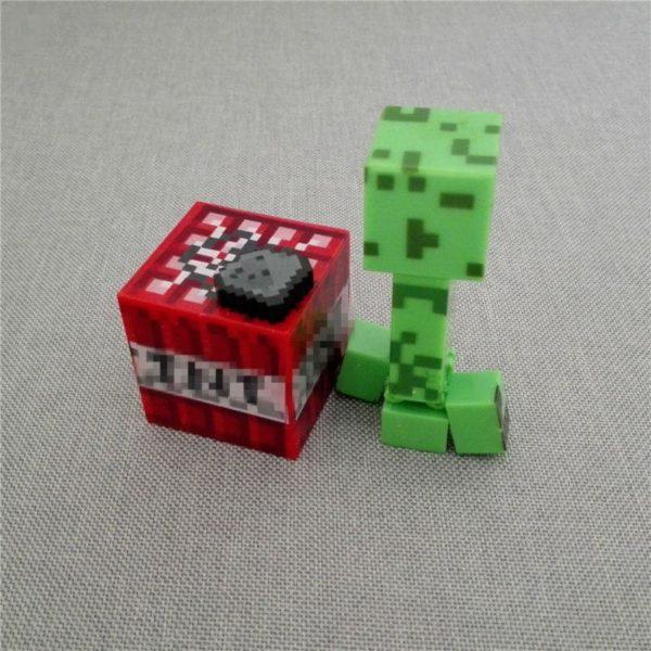 HTB1EzpTNXXXXXXeXXXXq6xXFXXXT d2a551c6 d0f6 4b88 9ede 58d036bd0fd5 1 Lot De 3 Figurines (Creeper / Bloc / Pack Arme) Minecraft - Livraison Gratuite !