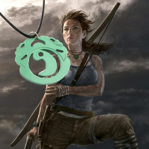 HTB1FIqqJFXXXXbwXVXXq6xXFXXXM d9a070b6 2eaf 4d2c b52d b6230a4c5e7b Collier Lara Croft Tomb Raider (50 Cm) - Livraison Gratuite !