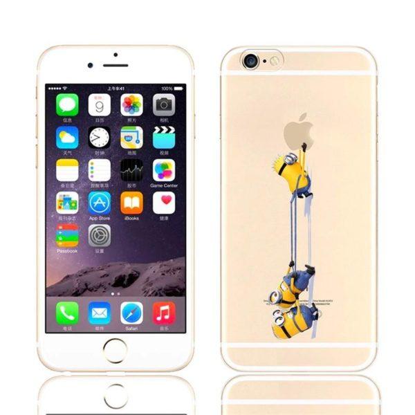 HTB1FQ08JVXXXXX6XVXXq6xXFXXXS 1d3f30be bdee 418c a9af eabb3a2ad68f Coque Minions Pour Iphone (4S, 5S, 5C, 6S Et 6 Plus) - Livraison Gratuite !