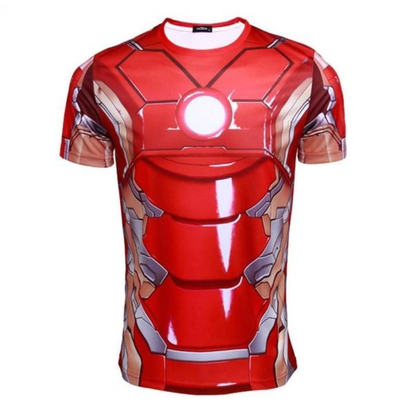 HTB1FXpdJFXXXXa0XpXXq6xXFXXX4 d4d8545b a6ba 4916 b661 f9be17a267c2 T-Shirt Armure Iron Man Avengers - Livraison Gratuite !