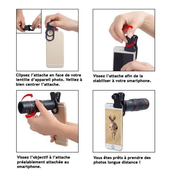 Objectif Pour Smartphone - Zoom X18
