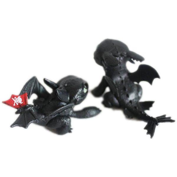 """Figurines Dragons """"Comment Dresser Votre Dragon"""" - Livraison Gratuite !"""